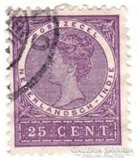 Holland Kelet-India forgalmi bélyeg 1902