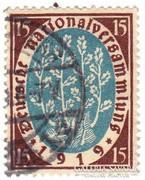 Német Birodalmi emlék bélyeg 1919