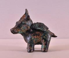 Ming korú antik kínai i bronz füstölő