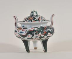 Antik kínai Ming porcelán füstölő