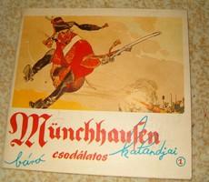 Münchausen báró csodálatos  képregény Piszkos ifjusági irodalom 1 forintról jó licitálást KIÁRUSÍTÁS
