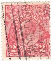 Ausztrália forgalmi bélyeg 1920