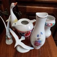 Hollóháza porcelánok
