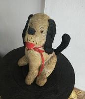 Régi kutyus, kutya, nosztalgia darab, játék, paraszti dekoráció