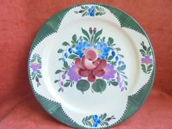 Rózsás Városlődi porcelán falitányér
