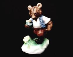 Herendi mézes mackó medve figura HIBÁTLAN