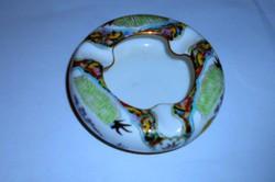 Kínai kézzel festett porcelán hamutál