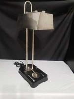 Nagyméretű egyedi darab (!) jelzéssel ellátott asztali lámpa