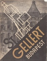 ST. GELLÉRT BUDAPEST idegenforgalmi kiadvány 1930as évek