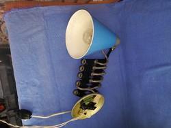 Eredeti,régi ollós,harmonika lámpa