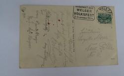 II. világháborús német levelezőlap képeslap 1944