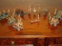 Hausser/Elastolin I.vh. masse katonák,járművek