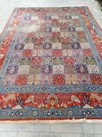Kézi csomózású Indiai kertmintás szőnyeg.300x200cm