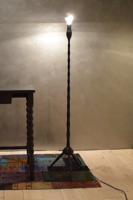 Retró állólámpa, szputnyik lámpa felújítva