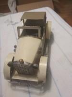 Régi autó modell játék, makett