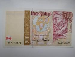 Portugália 500 escudós 1997 UNC  Ritka!