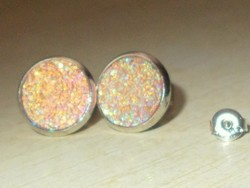 Álomszép Multicolor Opál fényű 925 ezüst Fülbevaló