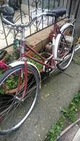 Nagyméretű  női csepel retro bicigli
