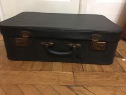 Szép Szürke 1960-as évekbeli Francia Bőrönd