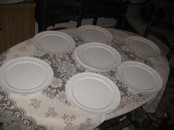 ROSENTHAL  szép visszafogott   felhő mintás  , pizzás  tányérok  31 cm  , 6 +2 db tartalék