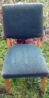 Art deco zöld színű szék