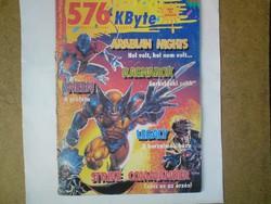 Számítástechnikai magazin - 576 kbyte újság 1993. júniusi száma