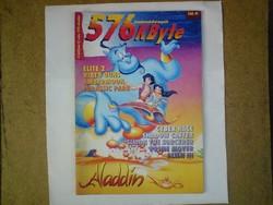 Számítástechnikai magazin - 576 kbyte újság 1993. 12. szám (december)