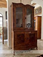 XVIII.sz-i Barokk Könyvszekrény / almárium