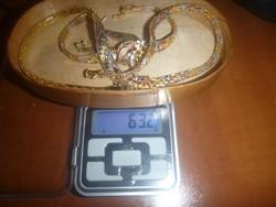 Aranyozott Olasz ezüst ékszer szett egyben eladó!