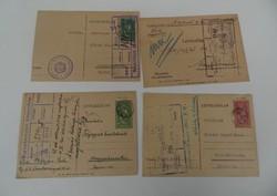 4 darab Horthy korabeli levelezőlap helytörténeti ritkaság Sopron