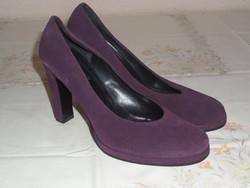 BIANCO lila bőr női cipő (40-es)