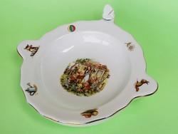 Hófehérkés ritka melegentartó tányér babáknak