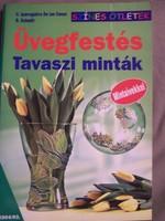 Üvegfestés - Tavaszi minták
