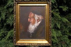 """Bánfi olajfestmény! - """"Rabbi portré"""""""