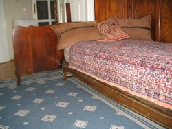 Nádor Szállóból: Ágy / Heverő, párban, (dupla ágy) , hátlappal (matraccal v. nélkül) 2 x 3 db