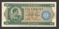 10 forint 1946.  EF+!!  Csak egyszer, gyengén hajtott!!   GYÖNYÖRŰ!!