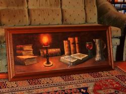Nagyméretű 122 x 52 cm-es képkeret ajándék nyomattal