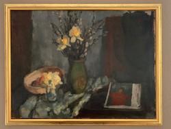 Kakusz Dalma festőművésznő eredeti alkotása a festmény 60x80as