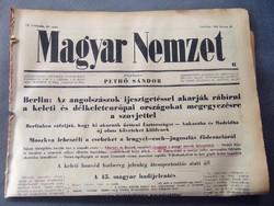 Angolszászok próbálják rábírni európai országokat megegyezésre a szovjettel  - Magyar Nemzet 1943