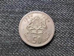 Marokkó II. Hasszán (1961-1999) 50 santimat 1974 (id19083)
