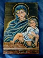 Ikon, Mária a kisdeddel
