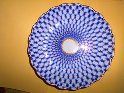 Orosz Lomonosov Szentpétervári Imperiál antik porcelán tál
