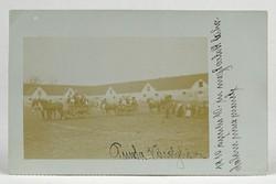 1B172 Antik lakodalmas fotográfia képeslap 1910 Károlyháza