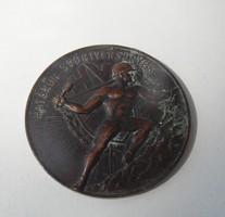 1940-1950. 'Határőr Sportversenyek' Br emlékérem