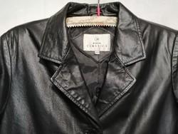Újszerű 38-as női nappa bőrkabát, zakó, blézer,rövid kabát dzseki.