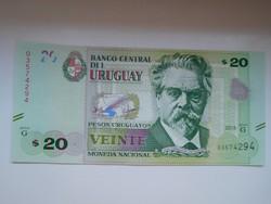 Uruguay 20 pesos uruguayos  2016 UNC