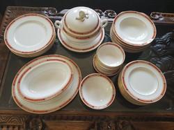 38 db-os angol Worcester porcelàn ètkèszlet