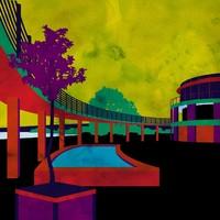 Velencei korzó - Popart + akvarell hatás = helyes kis ikon