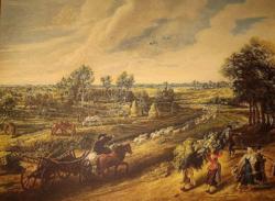 RÉGI GYÖNYÖRŰ JAN BRUEGHEL /1568-1625/ NYOMAT
