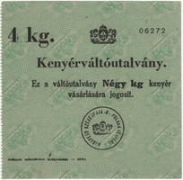 Kenyérváltó utalvány 4 kg